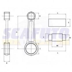 Biella BETA RR 250/450/525cc - KTM 250/450/520/525cc 4 tempi