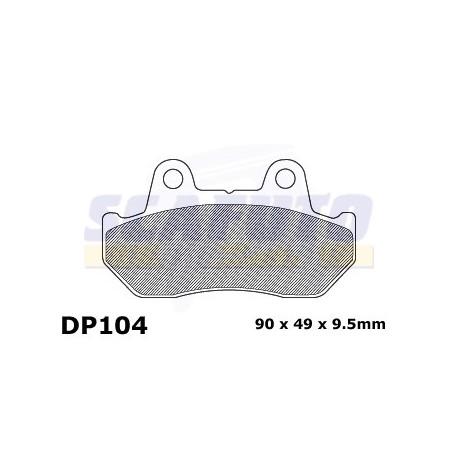 Pastiglia freno HONDA DP104 Ant.