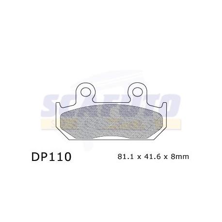 Pastiglia freno HONDA DP110 Ant.