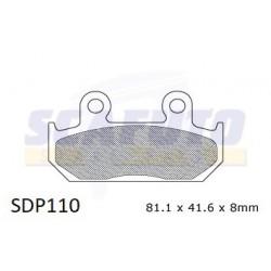 Pastiglia freno HONDA SDP110 Ant.