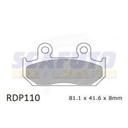 Pastiglia freno HONDA RDP110 Ant.