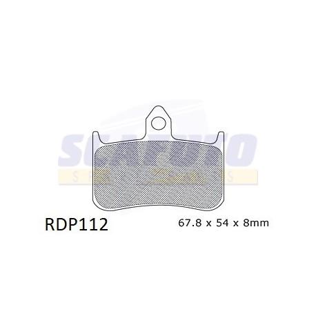 Pastiglia freno HONDA RDP112 Ant