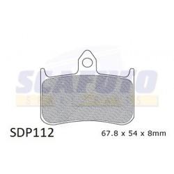 Pastiglia freno HONDA SDP112 Ant