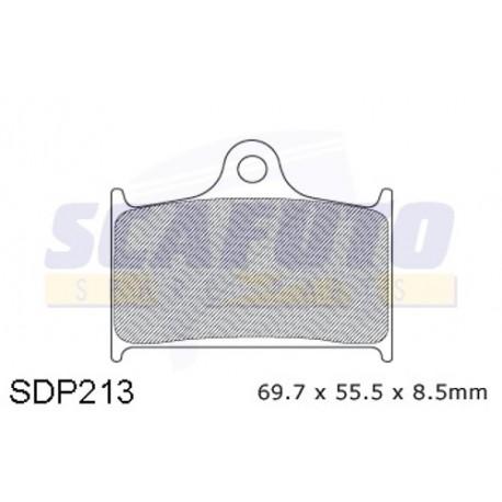 Pastiglia freno SUZUKI-TRIUMPH SDP 213 Ant.