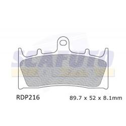 Pastiglia freno KAWASAKI-SUZUKI RDP216 Ant.