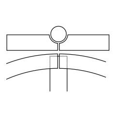 Fascia elastica Grano Normale altezza 2,5 mm