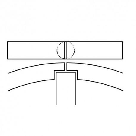 Fascia elastica Grano Interno altezza 1,5 mm