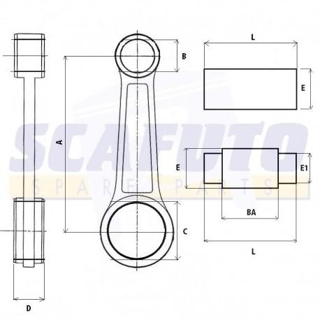 Biella DUCATI SCRAMBLER 450cc 4t